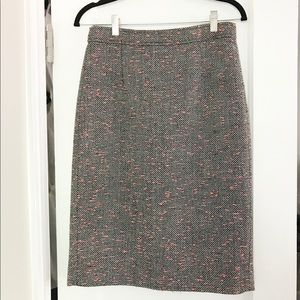 J. Crew Skirts - EUC J.Crew Neon Tweed Pencil Skirt